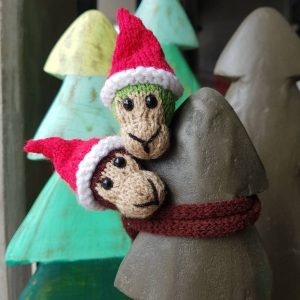 !!SOLD OUT!! Christmas Monkey