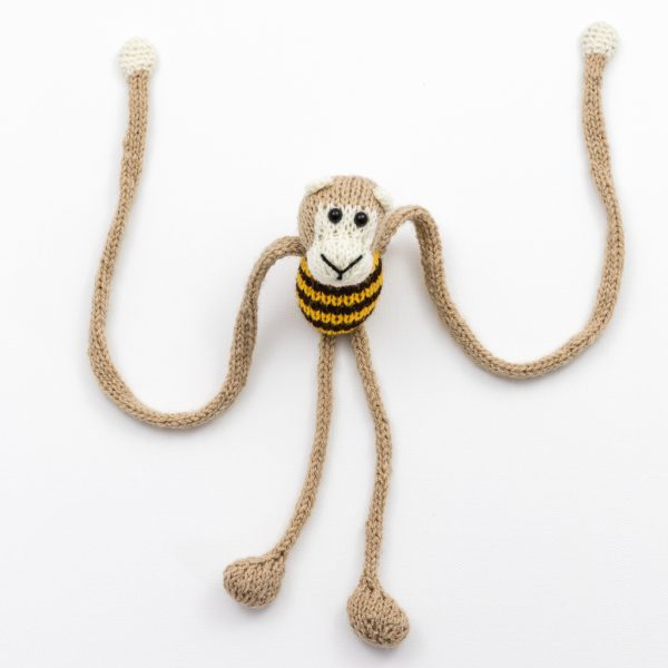 Knitted Monkey