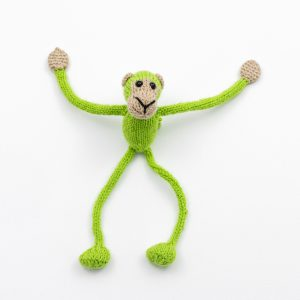 Magical (Magnetic) Monkeys – Lime Green