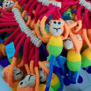 **SOLD OUT** Magical (Magnetic) Monkeys – Rainbow
