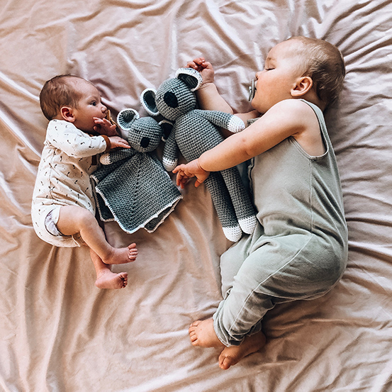 Sleepy Snoogus & Sleepy Snuggly Blanket Koala set