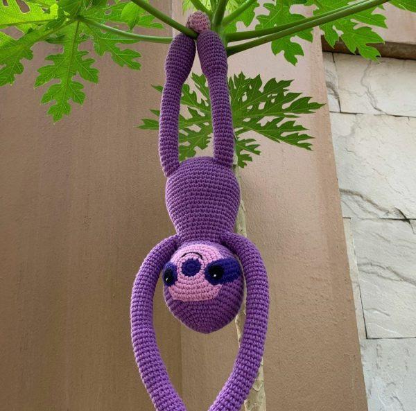 Urple the Purple  Sloth