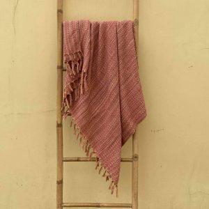 Nectarine Weave Blanket