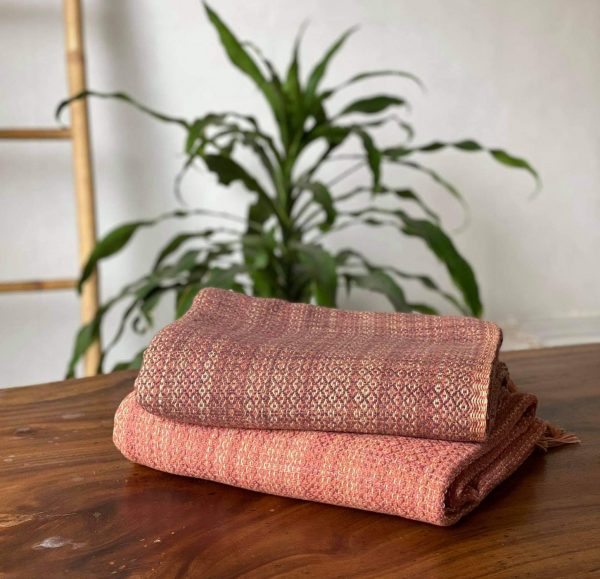 **SOLD OUT** Plum Weave Blanket